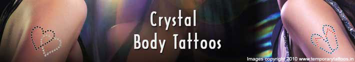 Crystal Tattoo Manufacturers,  Rhinestone Tattoo Supplies, Fabricant de Tatouage Strass, Sticker Crystal Tatoo, Rhinestone Body Tatts, Kristal Tattoos, Diamantes Tattoos