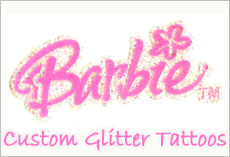 Personalized Temporary Tattoos Manufacturer Vendor makers, Custom Glitter Tattoo